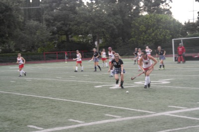 Bella Guanche '19 steals the ball away from Glendora High School. Credit: Printed with permission of Samantha Morris '21